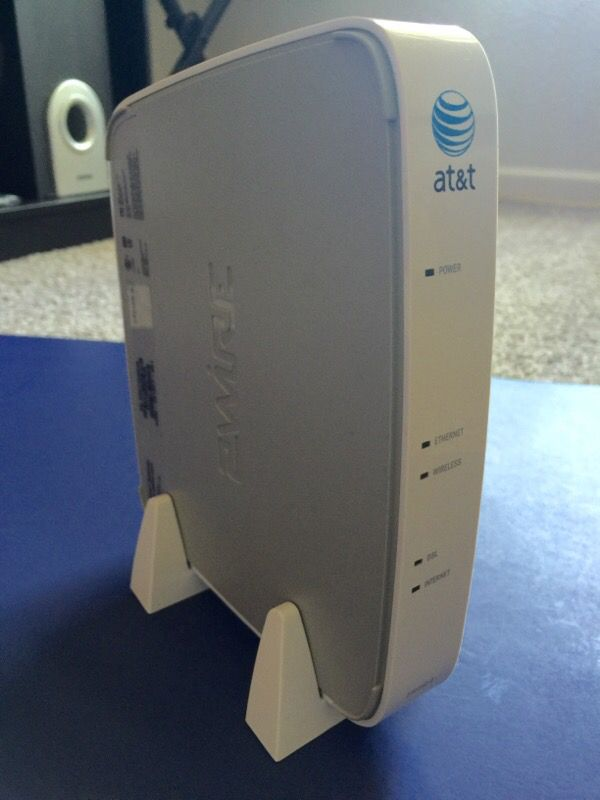 A Set Of AT&T 2Wire Gateway Model 2701HG-B Router And Corded Phone ...