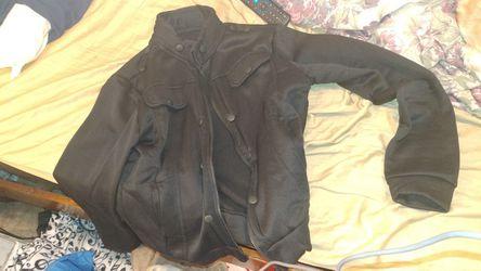 Black jacket never used Thumbnail