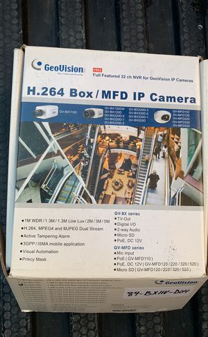 Geo vision gv-bx110D for Sale in San Diego, CA