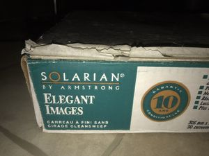 Armstrong Solarian elegant images roaesale rose flooring floor tiles new for Sale in Lorton, VA