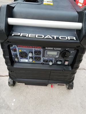 Photo GENERATOR PREDATOR 3500 WATTS INVERTER SUPER QUIET .