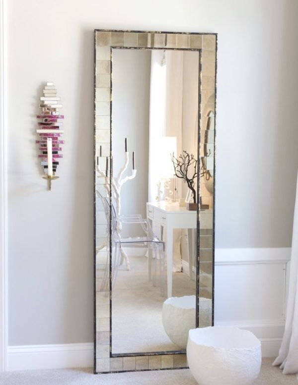 West elm antique tiled floor mirror (Furniture) in New York, NY ...