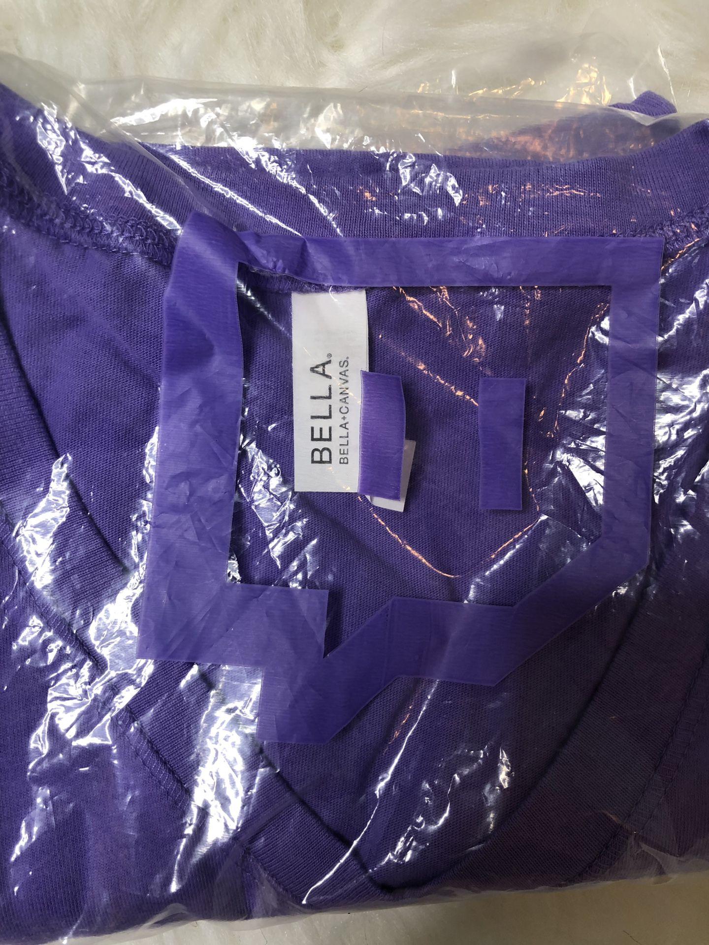 Twitch Purple V-Neck T-shirt Womens Girls Online Gamer Glitch Small