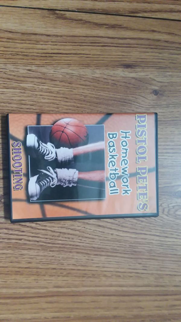 pistol pete homework basketball