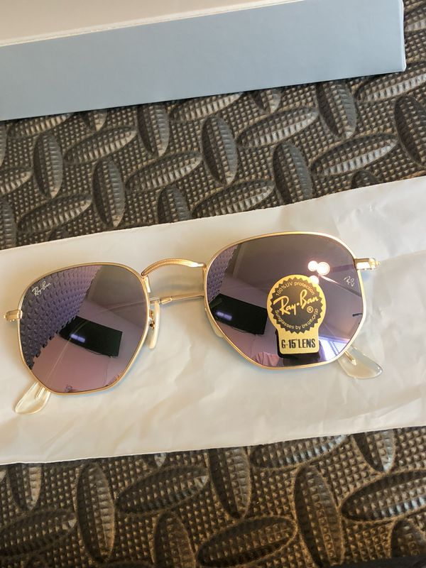 37310db9d654b Rayban Hexagonal Sunglasses for Sale in Irvine
