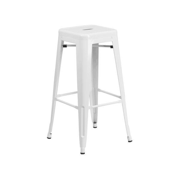 brand new 30 white metal bar stool barstool for sale in brea ca