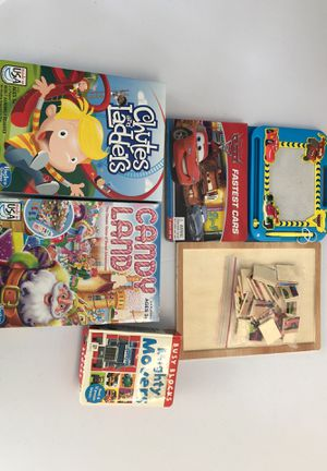Kids games and puzzles (5) for Sale in San Diego, CA