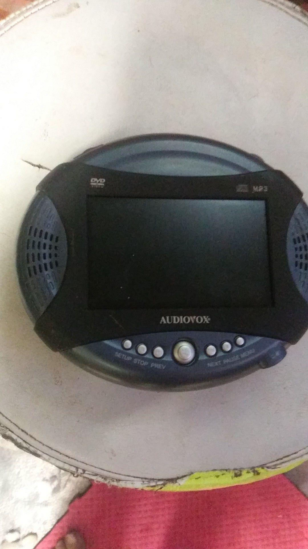 DVD MP3 portable