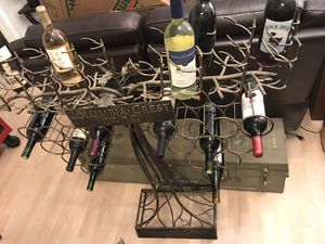 36 bottle wine rack. Terrible picture. Must see in person. Free standing and very heavy for Sale in Arlington, VA