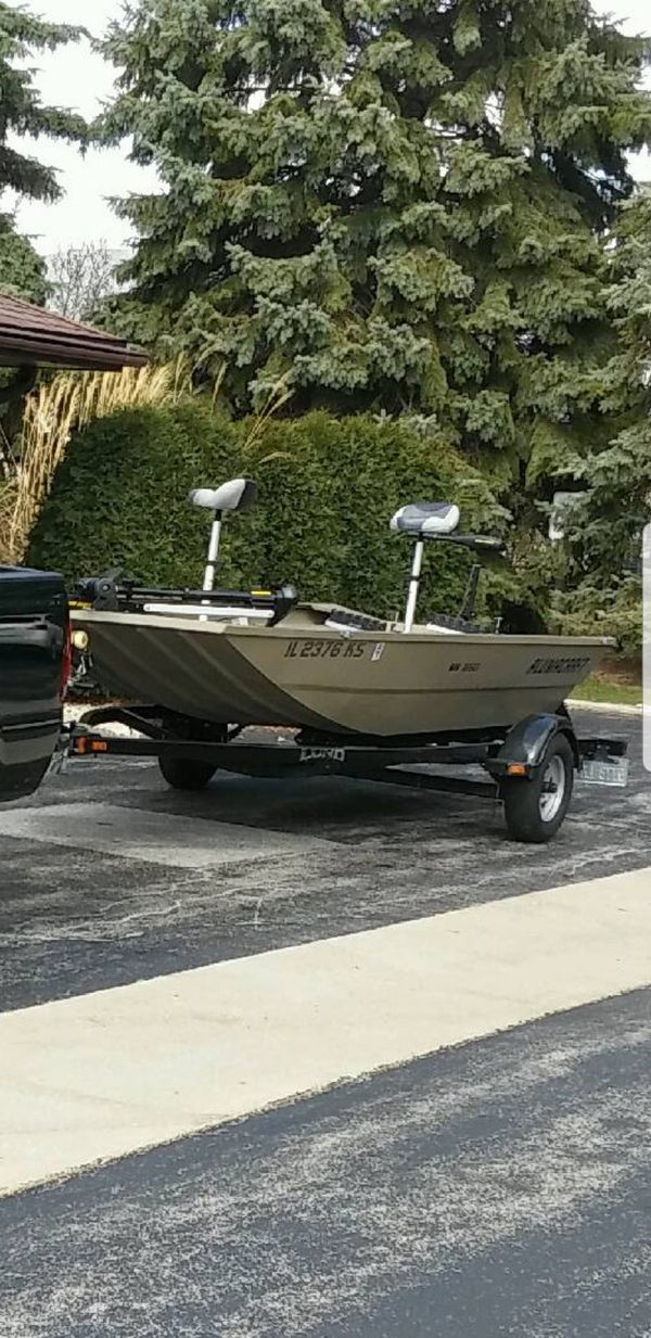 2014 jon boat 16.5