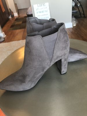 Ankle suede boots (size 6) for Sale in Alexandria, VA