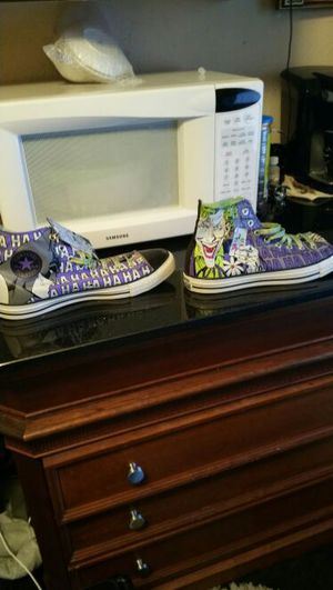 91ee80dce22 Brand New Converse Limited Edition Batman shoes Size 11 for Sale in San Jose