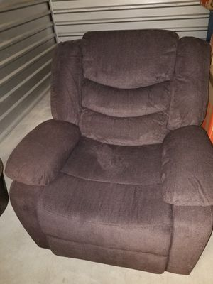 Electric Reclining Chair Brown for Sale in Glendale, AZ