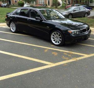 2005 BMW 745i 138k miles must go for Sale in Alexandria, VA