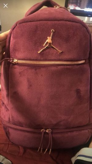 fe497f461a5f Jordan velvet backpack for Sale in Gilroy