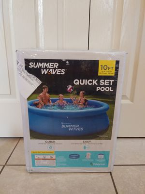 Photo Pool SumerWaves Quick Set 10ft