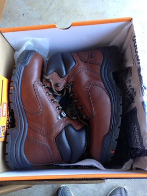 """Timberland Pro Women's Titan 6"""" Work Boots 8.5 soft toe for Sale in San Francisco, CA"""