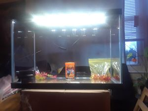 New 30 gallon tank with filter and lights for Sale in Washington, DC