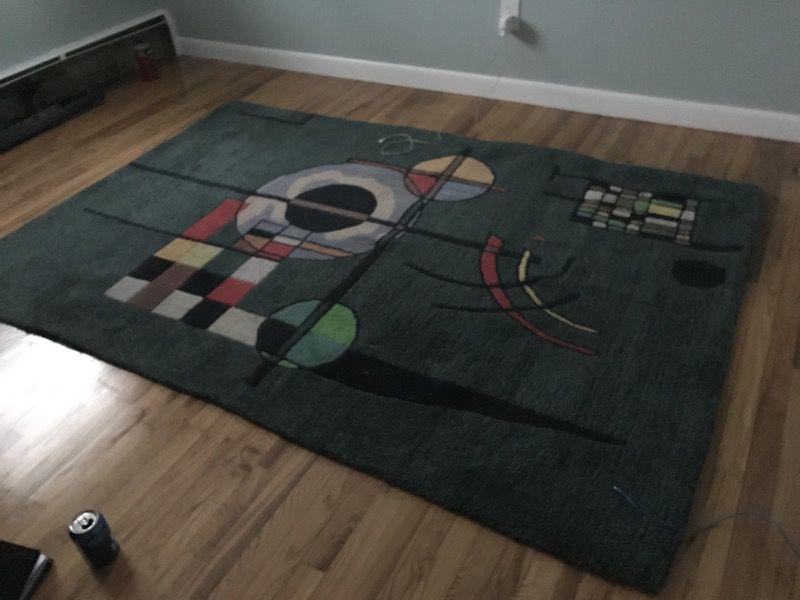 Large rug