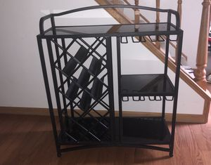 Wine bar/rack for Sale in Frederick, MD