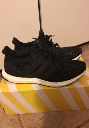 Details about Adidas UltraBoost 4.0 Black WhiteSpeckle