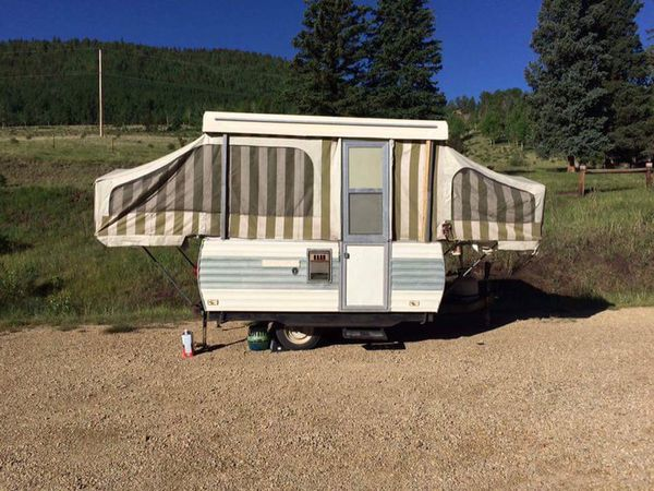 1976 Steury Pop Up Camper Trailer For Sale In Colorado Springs CO