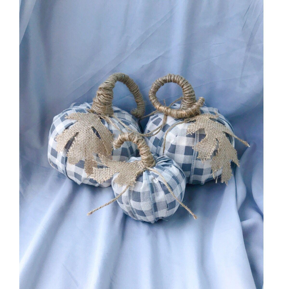 Handmade Sweater Ribbon Pumpkins Fall Halloween Decorations Custom Orders