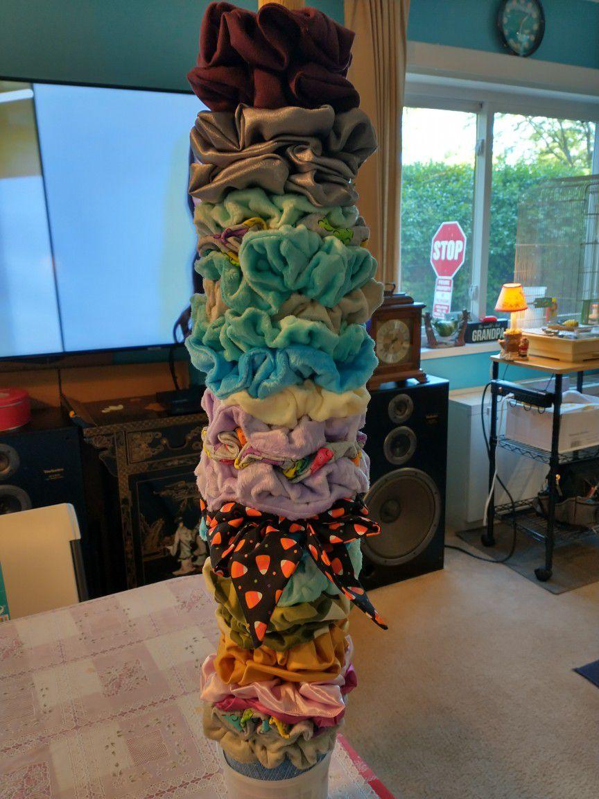 Handmade Scrunchies ($5) Each