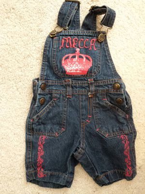 0-3 Month Short Overalls for Sale in Spanaway, WA