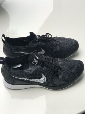 Nike Air Zoom Mariah Flyknit Racer - Black/White women's size 10 for Sale in Seattle, WA