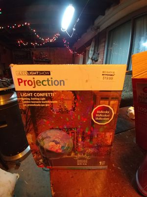2 LED LIGHT SHOW PROJECTION for Sale in Denver, CO