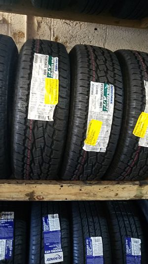 four bright new set of tires for sale 235/75/15 for Sale in Washington, DC