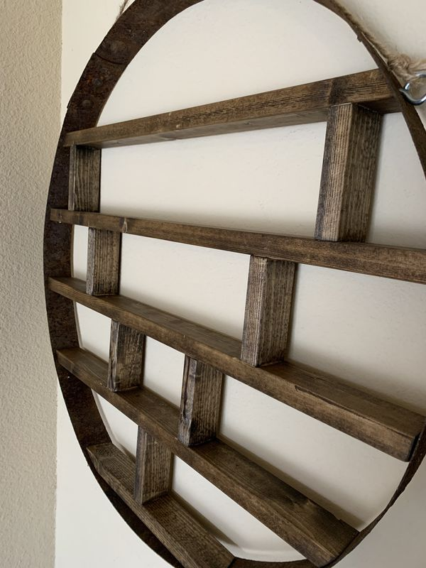 Wine Barrel Ring Rackshelf For Sale In Carlton Or Offerup