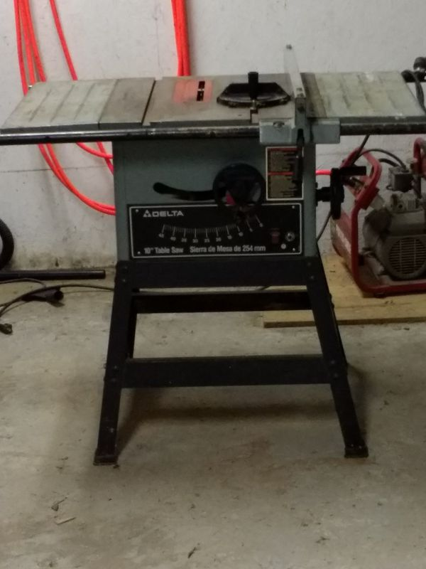 Delta 10 Table Saw Model 34 670 For In Auxve Mo