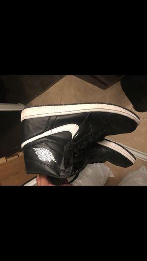 Black & White Jordan 1's size 14 for Sale in San Diego, CA