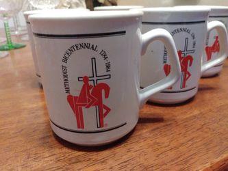 Methodist Bicentennial Mug Set of 5 Thumbnail