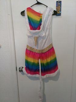 Rainbow Unicorn Dress/Halloween Costume Thumbnail