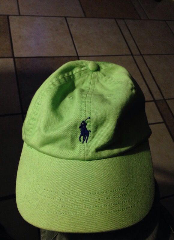 78155d3fed7fe Polo hat lime green for Sale in Phoenix