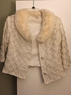 854b8a6c8 Wedding/Formal jacket with fur collar for Sale in Santee, CA