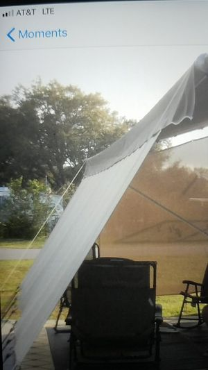 18×8 approx. RV awning shade screen 2 piece for Sale in Orlando, FL