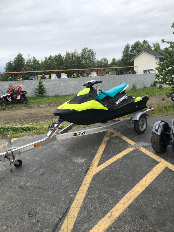 2018 seadoo sparks 3up