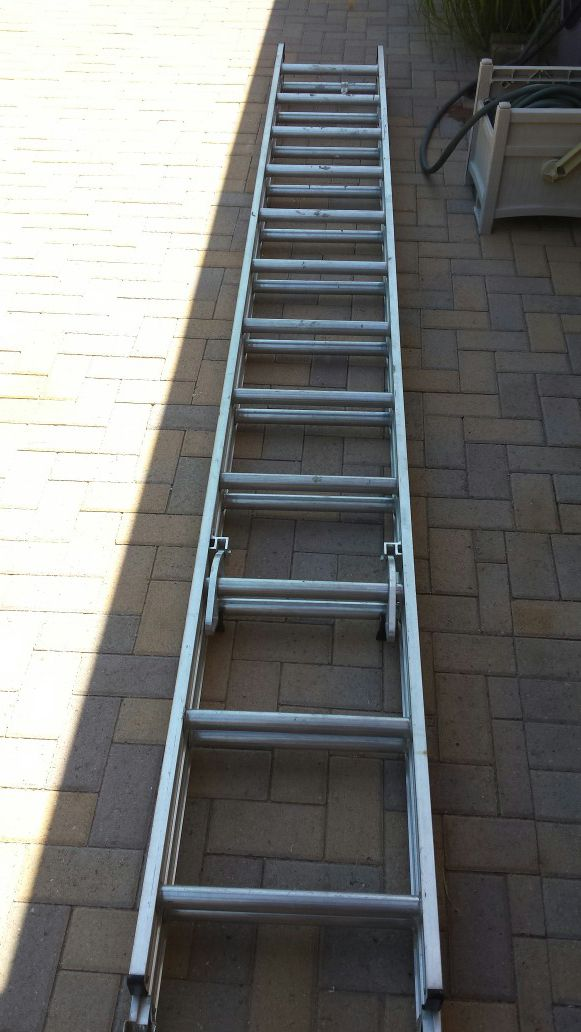 Ladder Extension 24 Foot Aluminum For Sale In Scottsdale Az Offerup
