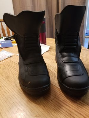 bilt waterproof motorcycle boots for Sale in Seattle, WA