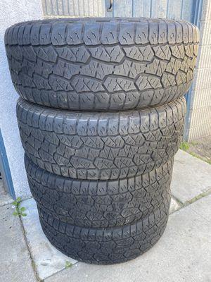 Photo Set of 4 Hankook Dynapro AT M 275/55R20 40% tread left! Located in Buena Park! $225 obo! #orange county wheels #ocwheels #ocw #forsale