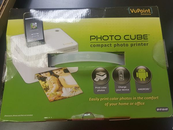 Vupoint Photo Cube Compact Photo Printer For Sale In Miami Fl Offerup