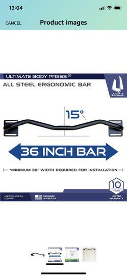 Wall-mounted Pull-up Bar Thumbnail