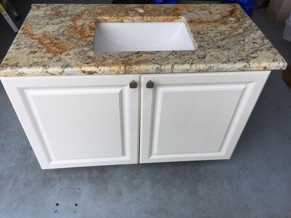 Granite bathroom vanity sink for Sale in Fort Myers Beach ...