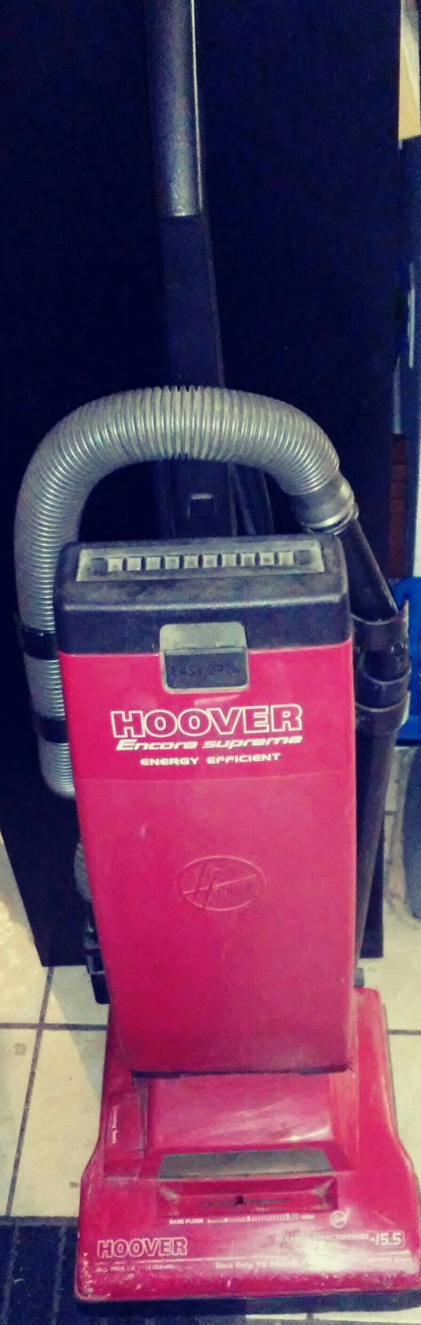 Hoover Encore Supreme Energy Efficient Vacuum For In Bakersfield Ca Offerup
