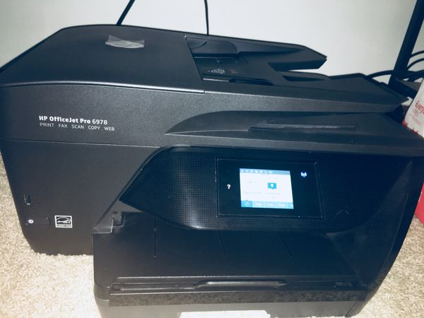 HP OfficeJet Pro 6978 All-in-One Wireless Printer with Mobile Printing,  Instant Ink ready (T0F29A) for Sale in Niles, IL - OfferUp