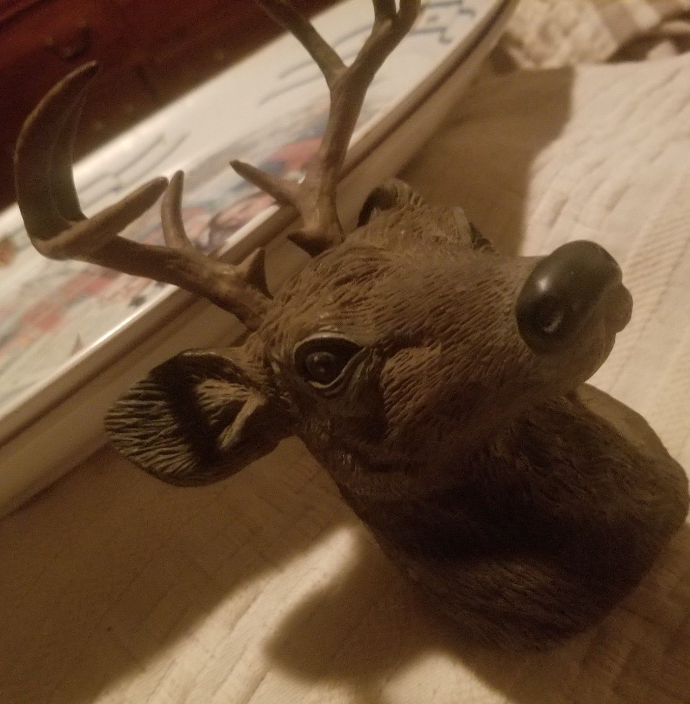 Deer head hitch cover